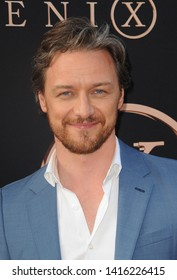 James McAvoy at the Los Angeles premiere of 'Dark Phoenix' held at the TCL Chinese Theatre in Hollywood, USA on June 4, 2019.