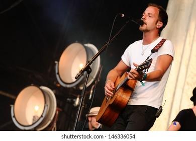 James Morrison at Magic Summer Live in Stoke Park, Guilford, Surrey. 13/07/2013