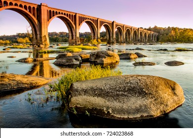 James River Bridge in Richmond, VA