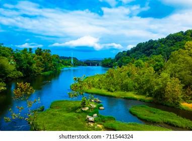 James River Lynchburg VA