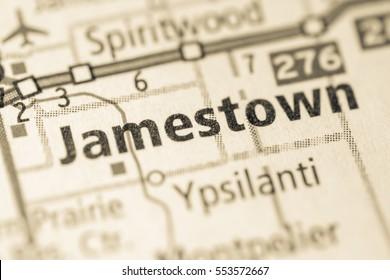 Jamestown. North Dakota. USA
