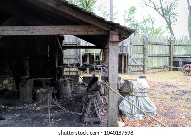 Jamestown Virginia Historical Blacksmiths Shop