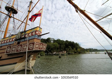 Jamestown Virginia Replica Ships