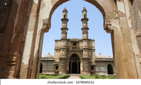 Jami Masjid, Champaner-Pavagadh Archaeological Park. It is a UNESCO world heritage site which is situated in Gujarat, India