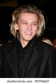 Jamie Campbell Bower arriving for the UK premiere of The Twilight Saga: Breaking Dawn Part 1 at Westfield Stratford City, London. 17/11/2011 Picture by: Alexandra Glen / Featureflash