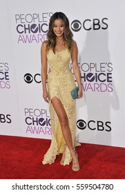 Jamie Chung at the People's Choice Awards 2017 held at the Microsoft Theater in Los Angeles, USA on January 18, 2017.