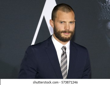Jamie Dornan at the Los Angeles premiere of 'Fifty Shades Darker' held at the Theatre at Ace Hotel in Los Angeles, USA on February 2, 2017.