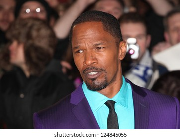 Jamie Foxx arriving for the Django Unchained Premiere, at Empire Leicester Square, London. 10/01/2013 Picture by: Alexandra Glen