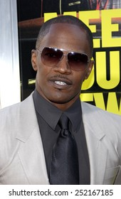 """Jamie Foxx at the Los Angeles Premiere of """"Horrible Bosses"""" held at the Grauman's Chinese Theater in Los Angeles, California, United States on June 30, 2011."""