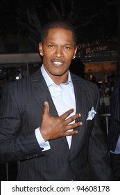 "Jamie Foxx at the world premiere of his new movie ""The Kingdom"" at Mann's Village Theatre, Westwood. September 18, 2007  Los Angeles, CA Picture: Paul Smith / Featureflash"