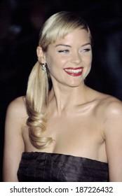 Jamie King, wearing Calvin Klein, at Metropolitan Museum of Art Goddess Gala, NY 4/28/2003