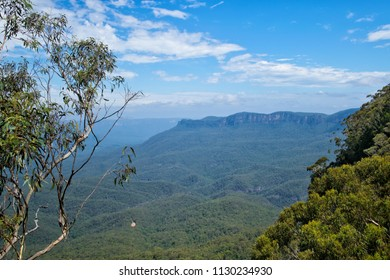Jamison Valley in Blue Mountains in Australia