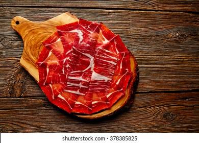 Jamon iberico han from Andalusian Spain Tapas