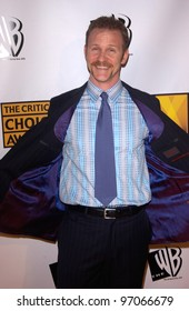 Jan 10, 2005; Los Angeles, CA:  Supersize Me documentary filmmaker MORGAN SPURLOCK at the 10th Annual Critcs' Choice Awards at the Wiltern Theatre, Los Angeles.