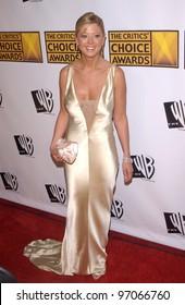 Jan 10, 2005; Los Angeles, CA:  Actress TARA REID at the 10th Annual Critcs' Choice Awards at the Wiltern Theatre, Los Angeles.