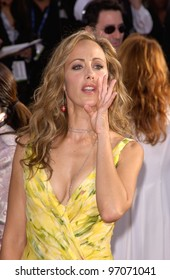 Jan 16, 2005; Beverly Hills, CA: Actress KIM RAVER at the 62nd Annual Golden Globe Awards at the Beverly Hilton Hotel.