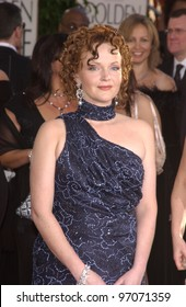 Jan 16, 2005; Beverly Hills, CA: Actress MIRANDA RICHARDSON at the 62nd Annual Golden Globe Awards at the Beverly Hilton Hotel.