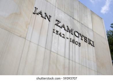 Jan Zamojski build of Zamosc