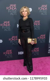 "Jane Fonda attends HBO Documentary Film ""Jane Fonda In Five Acts Los Angeles  Premiere at Hammer Museum, Westwood, California on September 13th, 2018"
