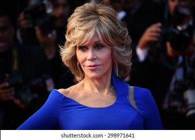 Jane Fonda    attends the premiere of 'The Sea Of Trees' during the 68th annual Cannes Film Festival on May 16, 2015 in Cannes, France.