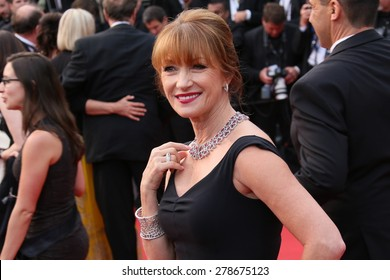 Jane Seymour attends the 'Mad Max : Fury Road' Premiere during the 68th annual Cannes Film Festival on May 14, 2015 in Cannes, France.