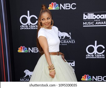 Janet Jackson at the 2018 Billboard Music Awards held at the MGM Grand Garden Arena in Las Vegas, USA on May 20, 2018.