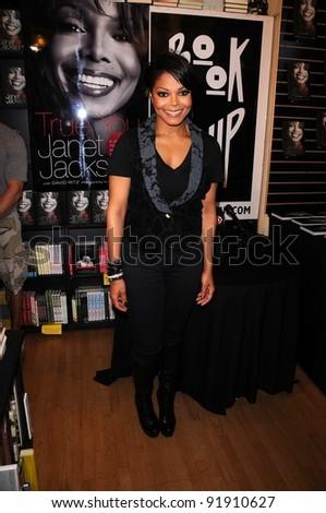 Janet Jackson Signing True You Journey Stock Photo (Edit Now