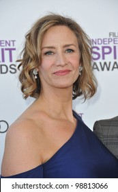 Janet McTeer at the 2012 Film Independent Spirit Awards on the beach in Santa Monica, CA. February 25, 2012  Santa Monica, CA Picture: Paul Smith / Featureflash
