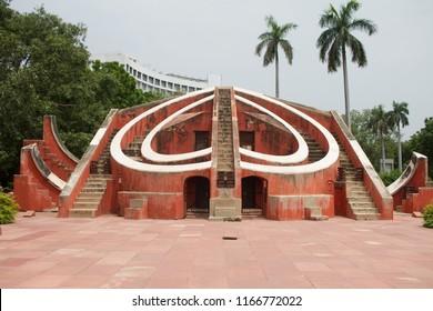 Jantar Mantar astronomy observatory in New Delhi