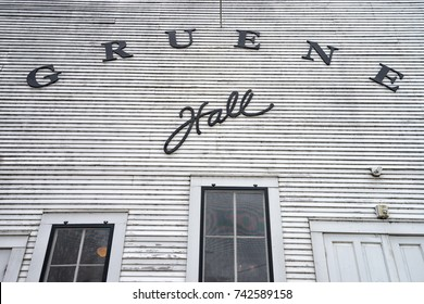 January 1, 2016 Gruene, Texas: the Gruena Hall built in 1878 has become internationally recognized as a destination tourist attraction and major music venue