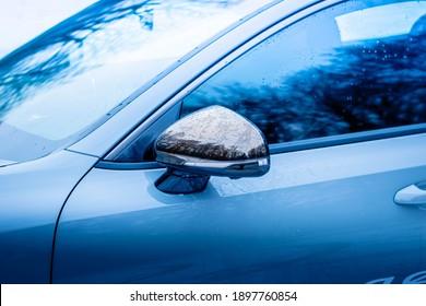 January 15 2021: 2020 Kia Stinger GT chrome side mirror cover