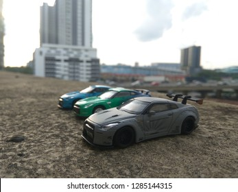 January 16, 2019, a hotwheels car (Nissan GTR R35) being captured by hobbyist in Malaysia