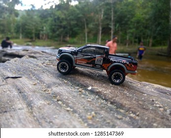 January 16, 2019, a hotwheels car (ford raptor) being captured by hobbyist in Malaysia