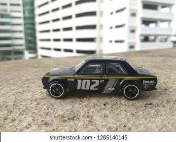 January 16, 2019, a hotwheels car(datsun 510) being captured by hobbyist in Malaysia