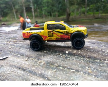 January 16, 2019, a hotwheels car(ford raptor) being captured by hobbyist in Malaysia