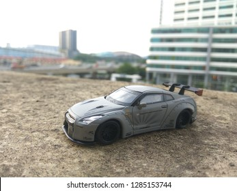 January 16, 2019, a hotwheels car(Nissan GTR R35) being captured by hobbyist in Malaysia