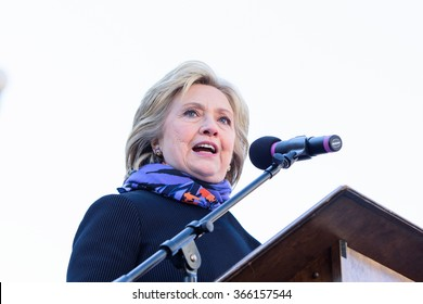 January 18, 2015 - Columbia S.C: Hillary Clinton(D), speaks at the MLK Day rally held by the South Carolina NAACP at the South Carolina Statehouse.