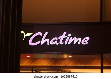 January 19, 2020, Sleman, Indonesia: Chatime is a Taiwanese global franchise teahouse chain based in Zhubei. Chatime is the largest teahouse franchise in the world.