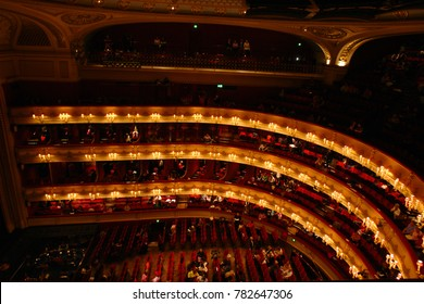 January 2009: Photo from Royal Opera house in Covent Garden, London, United Kingdom