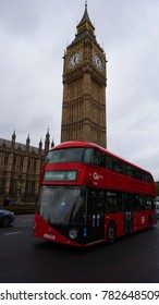 January 2015: Photo from iconic houses of Parliament and Big Ben in Westminster, London, United Kingdom