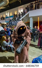 January 2017: Star Wars character in La Farga exposition, Hospit