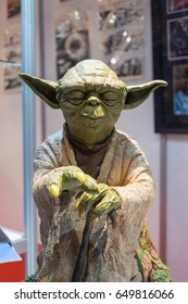 January 2017: Yoda in La Farga exposition, Hospitalet (Spain).
