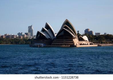 JANUARY 2018 - SYDNEY: the Opera House of Sydney, Australia.