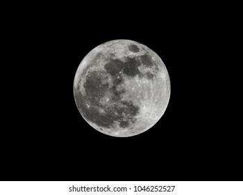 January 2018 wolf moon