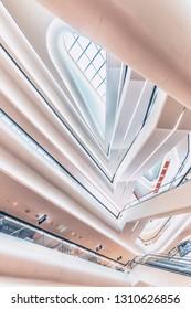 January 2019 - Bangkok, Thailand - Central Embassy shopping mall in Bangkok