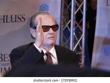 "JANUARY 21, 2008 - BERLIN: Jack Nicholson at the German premiere of the movie ""The Bucket List"" (""Das Beste kommt zum Schluss""), Cinemaxx, Potsdamer Platz, Berlin."