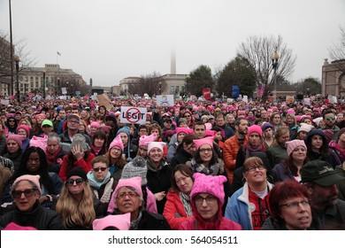 January 21, 2017 Women's March Washington DC