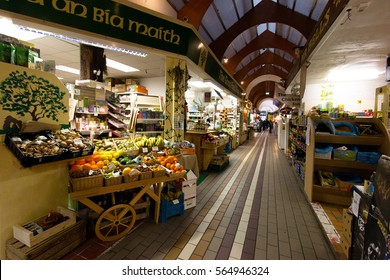 January 26th, 2017, Cork, Ireland - one of the stores inside the iconic English Market, a municipal food market in the centre of Cork, Ireland.