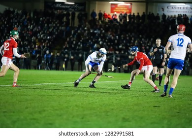 January 2nd, 2018, Mallow, Ireland - Co-Op Superstores Munster Hurling League 2019 match between Cork and Waterford at Mallow GAA Sports Complex