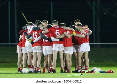 January 2nd, 2020, Mallow, Ireland: action from the gaelic football McGrath Cup - Round 2,  Cork : 3-19 vs Tipperary: 0-14